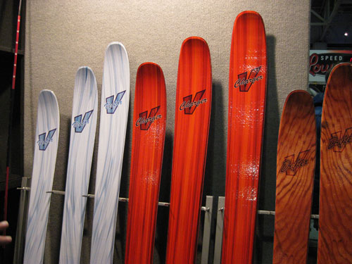 Voile Vector, Charger, and Drifter Skis