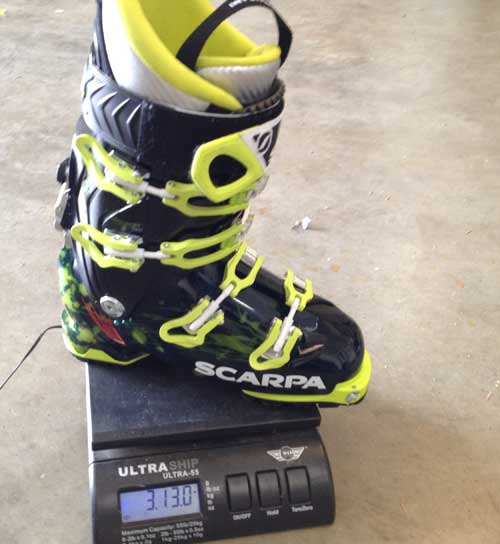 Scarpa Freedom SL Boot weight