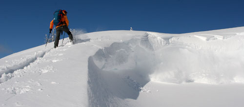 Black Diamond Avalung - cornice drop