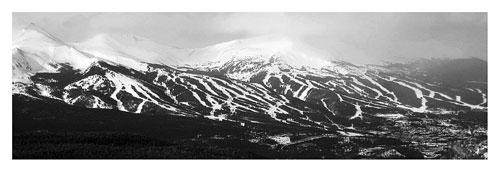 Breckenridge Ski Resort by Ellen Hollinshead