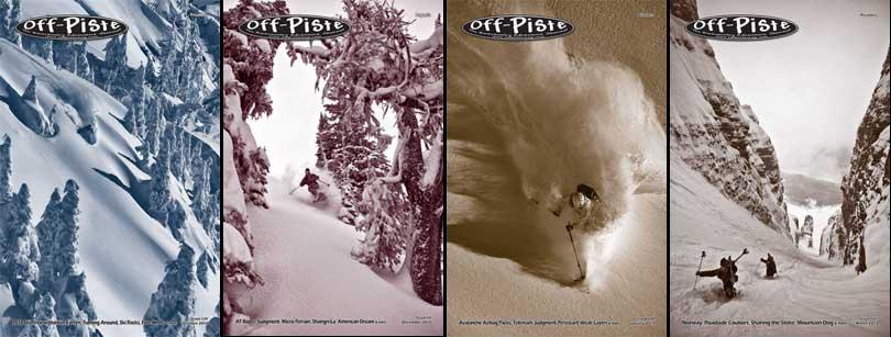 Off Piste Magazine Cover Shots