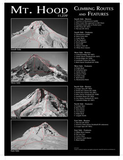 mount hood climbing routes