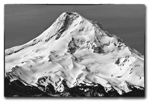 Mt Hood North Side view