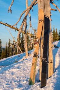 backcountry ski Altai Kom