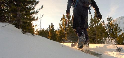 altai kom backcountry ski