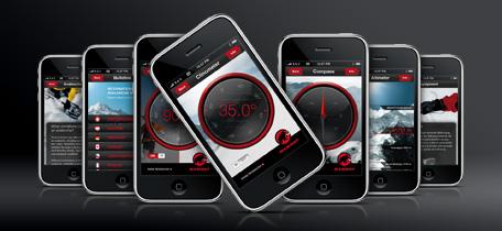 mammut i-phone inclinometer