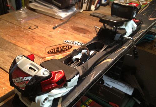 Marker tour f12 ski binding