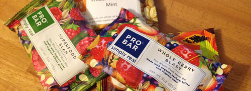 Pro Bar Energy Bars