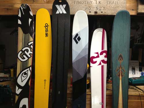 Off-Piste mag backcountry ski picks