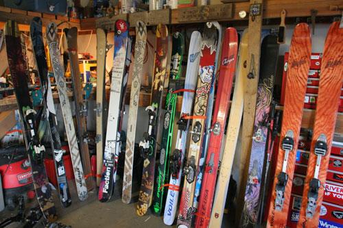 2010 backcountry ski and powder ski testing