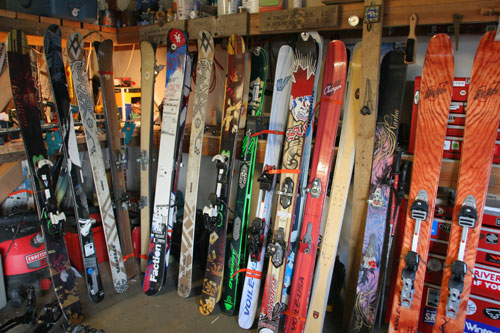 what do you meani need to sell some of my skis?