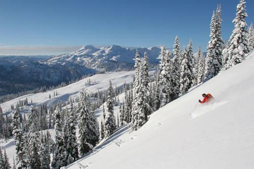 Sol Mountain Ski Touring Dave Waag Photo