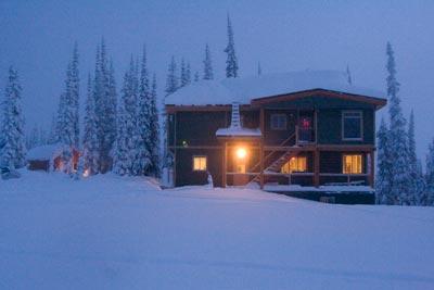 Sol Mountain Lodge, Monashees BC