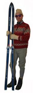 backcountry skier luddite