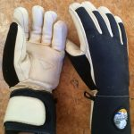 Free The Powder leather Ski gloves