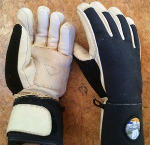 Free The Powder leather Ski gloves