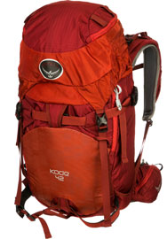 osprey kode ski pack