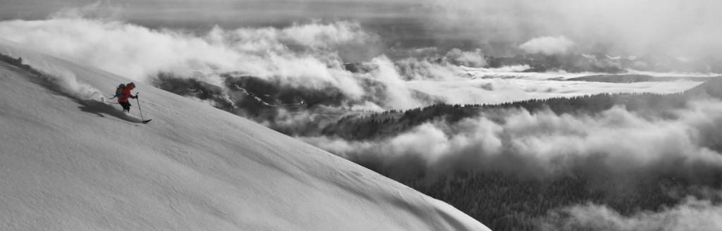 jacket testing, sol mountain touring