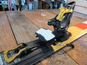 marker kingpin heel unit