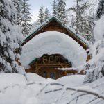 Wheeler Hut Rogers Pass , BC backcountry ski huts