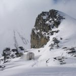 saphire col alpine club backcountry hut