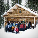 Boulder Hut Backcountry ski lodge
