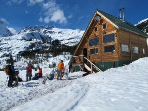burnie glacier ski huts and lodges