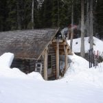 glacier circle backcounty ski huts