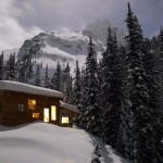 ice creek backcountry ski lodge