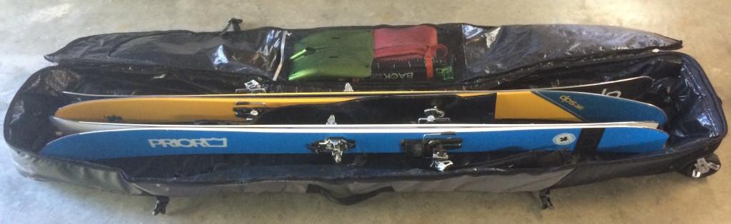 Thule double ski bag