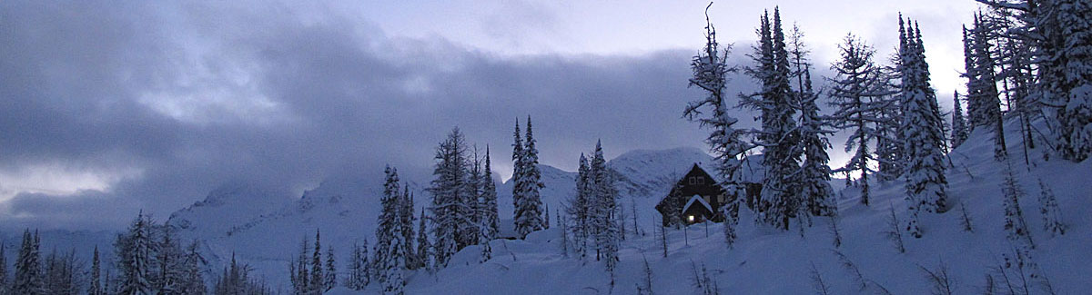 backcountry ski lodge - powder creek