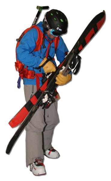 newbie backcountry skier
