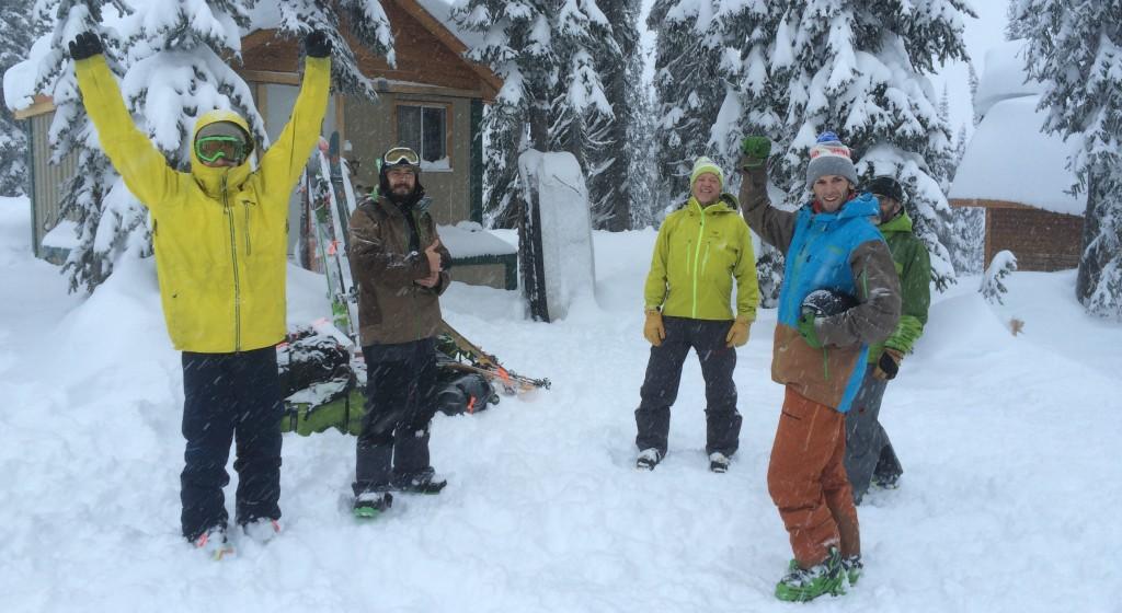 DPS skis powder day