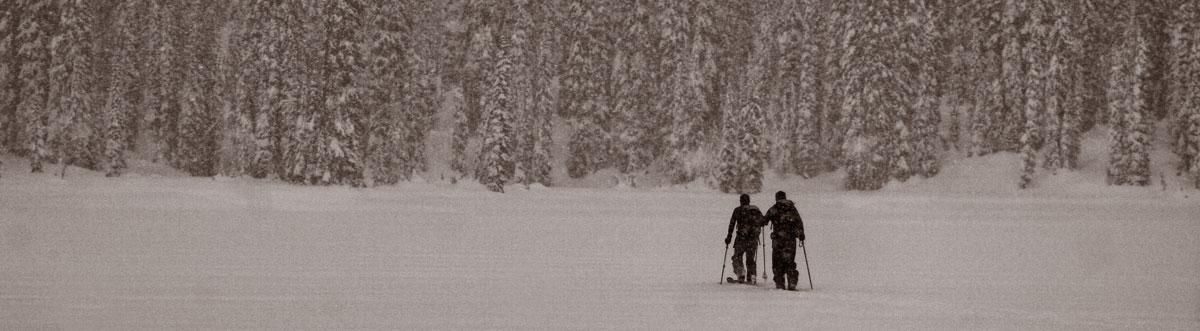 ski touring sol mountain lodge