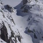 chamonix couloir skiing