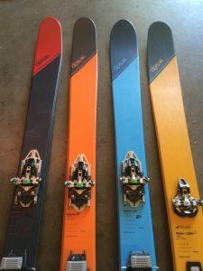 DPS Tour1 backcountry ski line