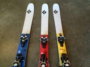 black diamond Helio backcountry skis