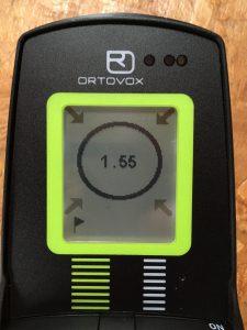 ortovox S1+ transceiver