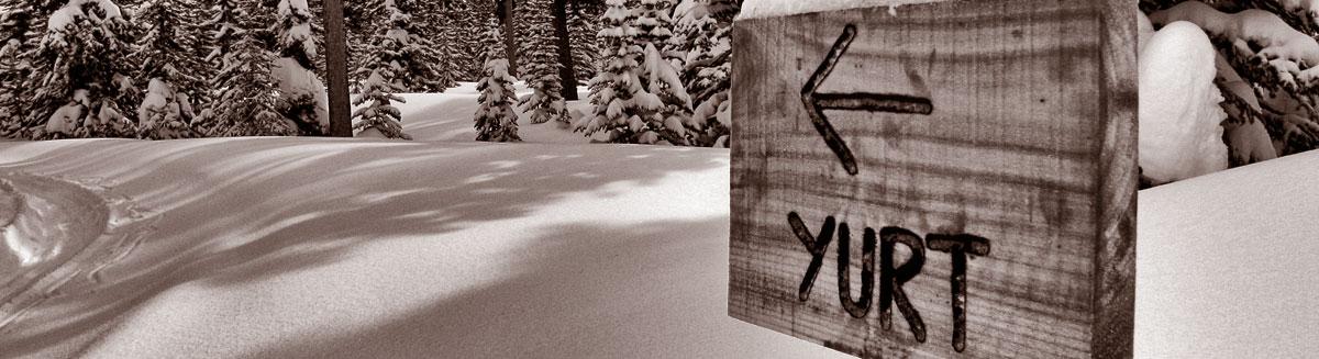 backcountry ski yurt