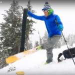 efficient ski touring transitions