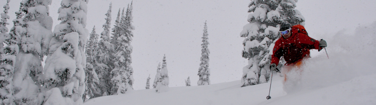 powder skiing sol mountain lodge bc