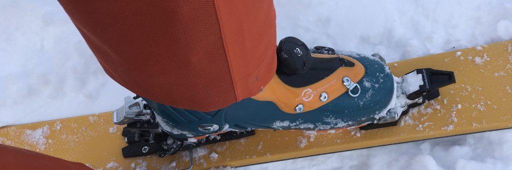 scarpa Evo f1 ski boot