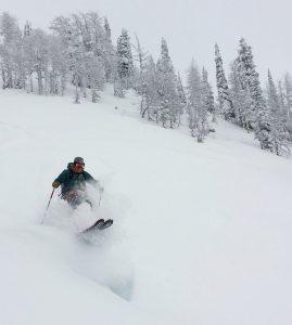dps lotus 124 spoon powder ski