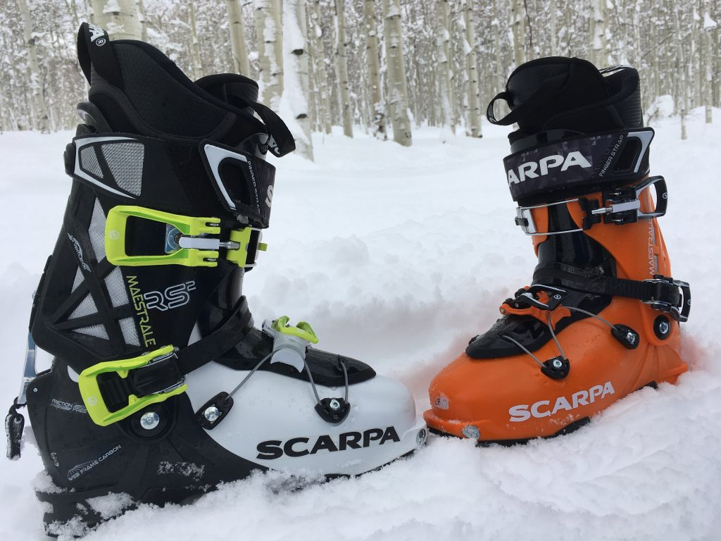 Scarpa Maestrale RS and Maestrale AT ski boot review - take a look ... 542fddd3997