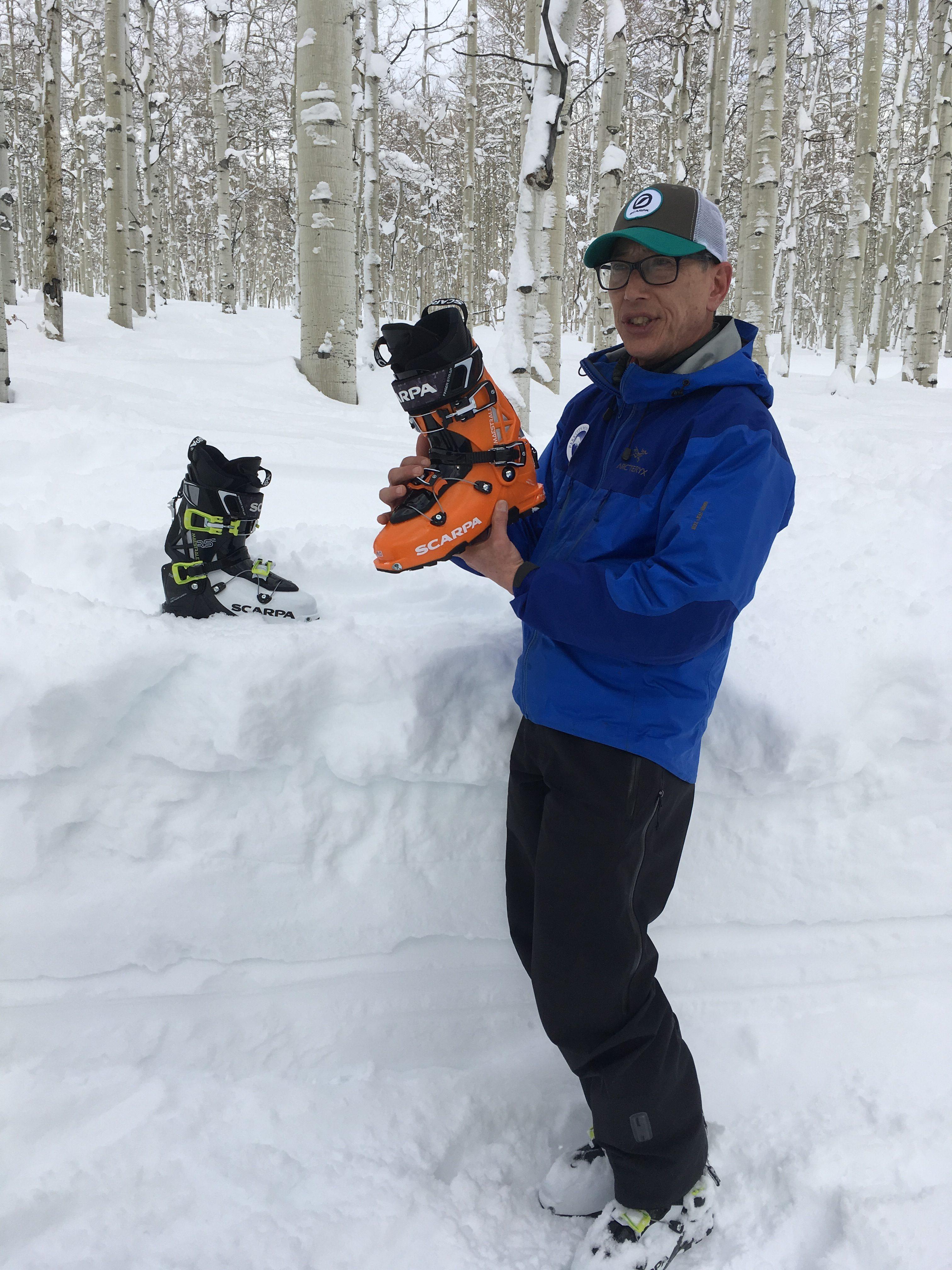 Scarpa Maestrale ski boots