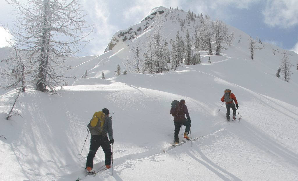 weak layers - terrain choices
