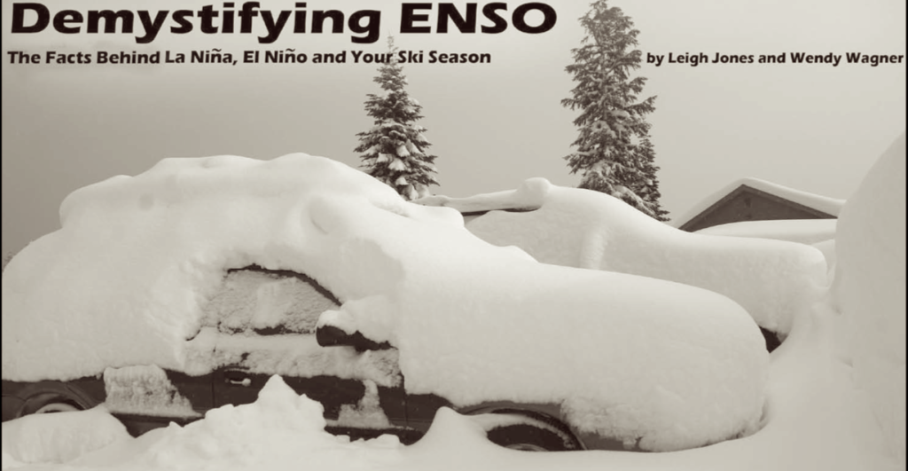 La Nina, El Nino and your ski season