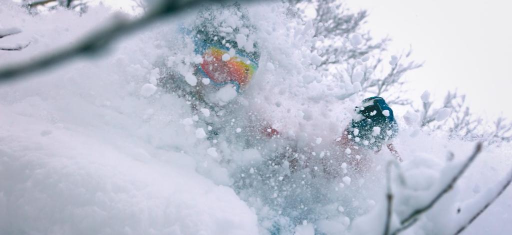 DPS powder skiing japan