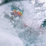 DPS powder skiing in japan