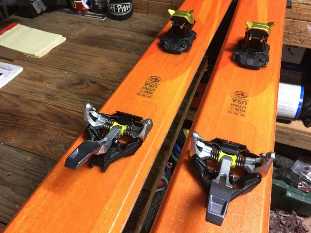 Dynafit TLT Speedfit binding Voile SuperCharger ski